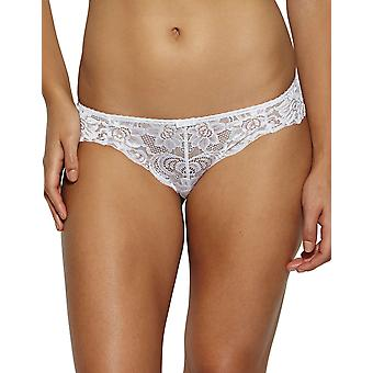 Gossard 11113 Women's Gypsy White Lace Knickers Panty Full Brief