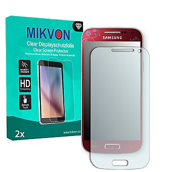 Samsung I9190 Galaxy S4 mini La Fleur Edition Screen Protector - Mikvon Clear (Retail Package with accessories)