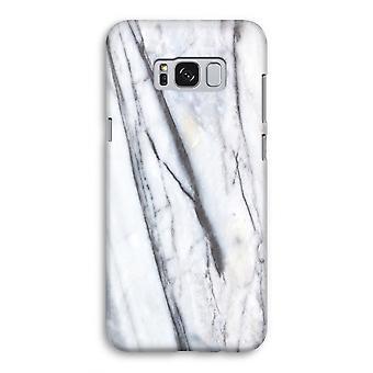 Samsung Galaxy S8 Full ut fallet - randig marmor