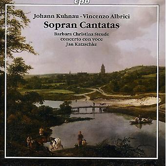 Kuhnau/Albrici - Johann Kuhnau, Vincenzo Albrici: Importación de Estados Unidos Soprano Cantatas [CD]