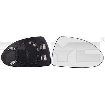 Right Mirror Glass (heated) & Holder forVAUXHALL CORSA mk4 2014-2018