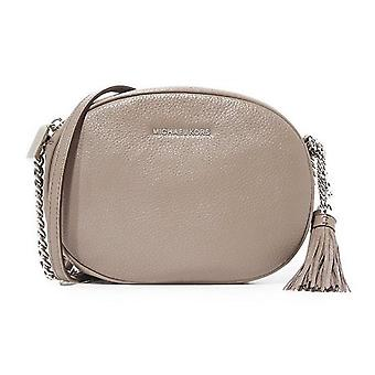 Michael Kors Ginny Medium Leather Crossbody Bag - Cinder- 30H6SGNM2L-513