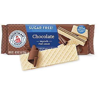 Voortman Chocolate Sugar Free Wafers Cookies
