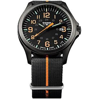Traser H3 watch P67 officer pro GunMetal 107425