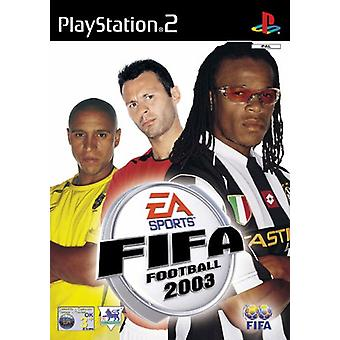 FIFA Football 2003 (PS2) - Factory Sealed