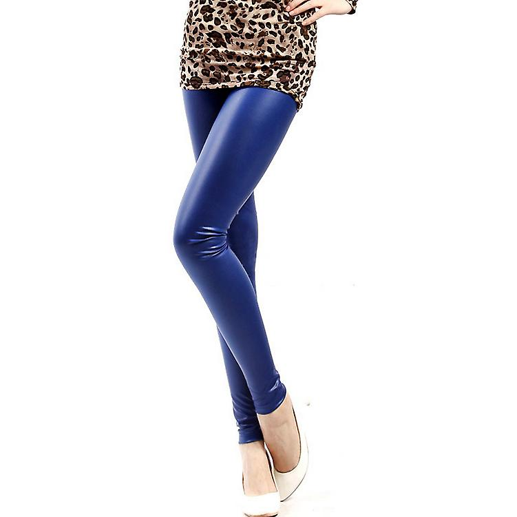 Waooh - Fashion - satin leggings style leather