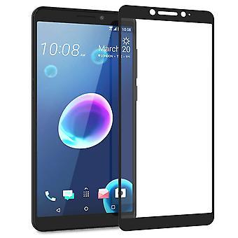 HTC Desire 12 gehärtetes Glas (Single) - schwarzer Rand