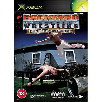 Backyard Wrestling Dont Try This at Home (Xbox)
