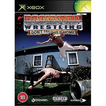 Backyard Wrestling Dont försök här hemma (Xbox)