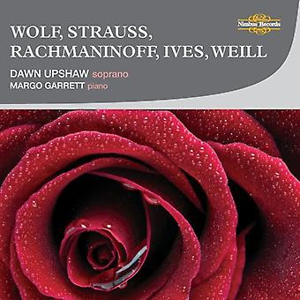 Dawn Upshaw - Wolf, Strauss, Rachmaninoff, Ives, Weill [CD] USA import
