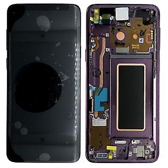Samsung écran LCD complet set GH97-21691 B violet / Lilas mauve pour Galaxy S9 plus G965F / S9 plus duo G965FD