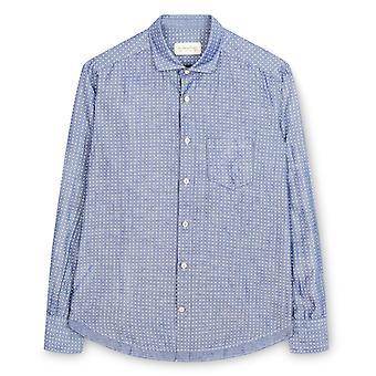 Fabio Giovanni Capitolo Shirt - Mens Italian Smart Look Casual Shirt - Long Sleeve