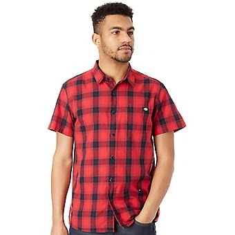 Dickies Red Bryson Short Sleeved Shirt