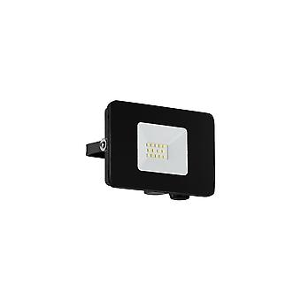 Eglo Budget Slimline 10W Black LED Floodlight