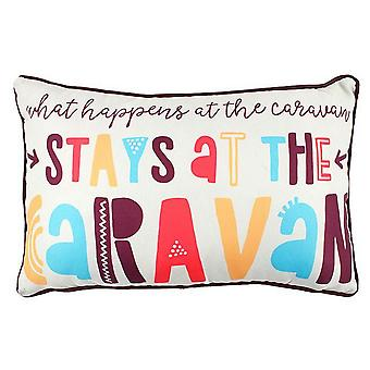 Something Different Stays At The Caravan Cushion