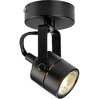 Decke Flutlicht HV Halogen GU10 50 W SLV Spot 79 132020 schwarz
