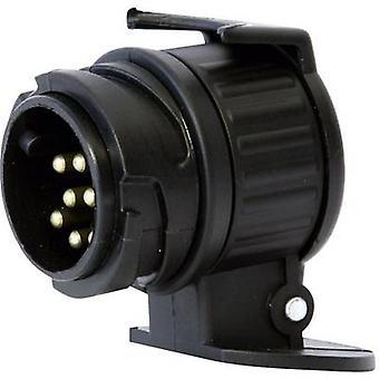 Trailer adapter [13-pin socket - 7-pin plug] DINO 130007 ABS pla