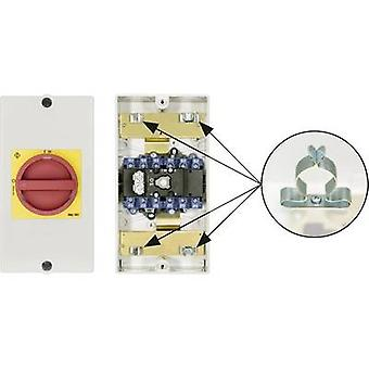 Kraus & Naimer KG64B T206/D-A066 KL71V Disconnector Lockable 1 x 90 ° Red, Yellow 1 pc(s)