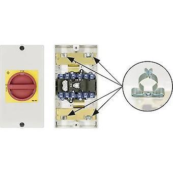 Kraus & Naimer KG20B T206/D-A059 KL11V Disconnector låsbare 1 x 90 ° rød, gul 1 eller flere PCer