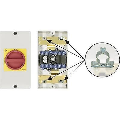 Kraus & Naimer KG64B T206 D-A066 KL71V Disconnector Lockable 1 x 90 ° rouge, jaune 1 pc(s)