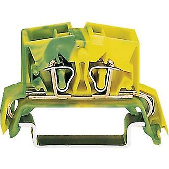 WAGO 264-737 PG terminal 10 mm Pull våren konfiguration: Terre grön-gul 1 dator