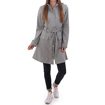 Rains Curve Belted Waterproof Jacket