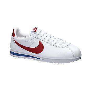 NIKE Cortez leather men's genuine leather sneaker white