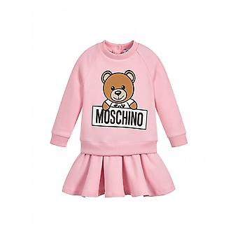 Moschino Toy Bear Sweater Dress In Box