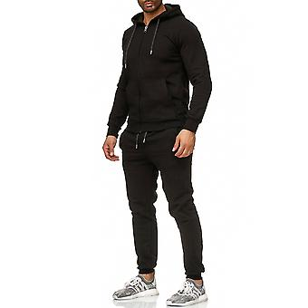 L.A.B 1928 men's tracksuit sport suit black