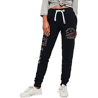 Superdry Women's Track & Field Sweat Pants Jogger Bottoms