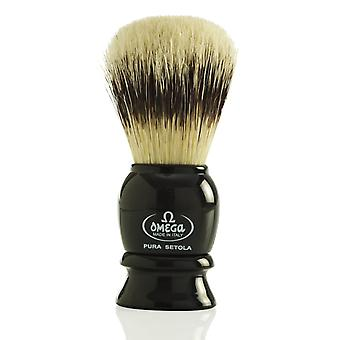 Omega 13522 Pure Bristle Shaving Brush