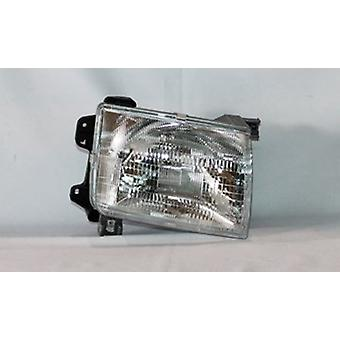 TYC 20-5221-00-1 Nissan Front Right Replacement Head Lamp
