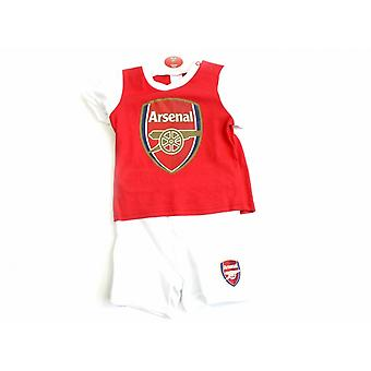 Arsenal FC Baby Short And Tee Sleep Set