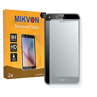 Huawei Y6 II Compact Screen Protector - Mikvon flexible Tempered Glass 9H (Retail Package with accessories)