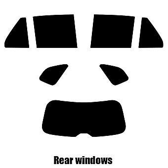 Pre corte tintado - Hatchback de 5 puertas del Kia Carens - 2008 - 2013 windows posterior