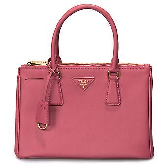 Prada Galleria Saffiano Small Leather Bag in Fuchsia
