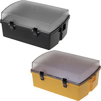 Witz Utility Locker II Lightweight Waterproof Sport Case with Clear Lid