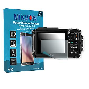 Nikon COOLPIX AW110 Screen Protector - Mikvon Armor Screen Protector (Retail Package with accessories)
