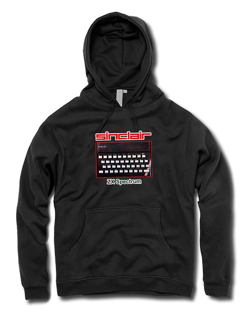 Mens Hoodie - Sinclair ZX Spectrum 80s - computerspellen