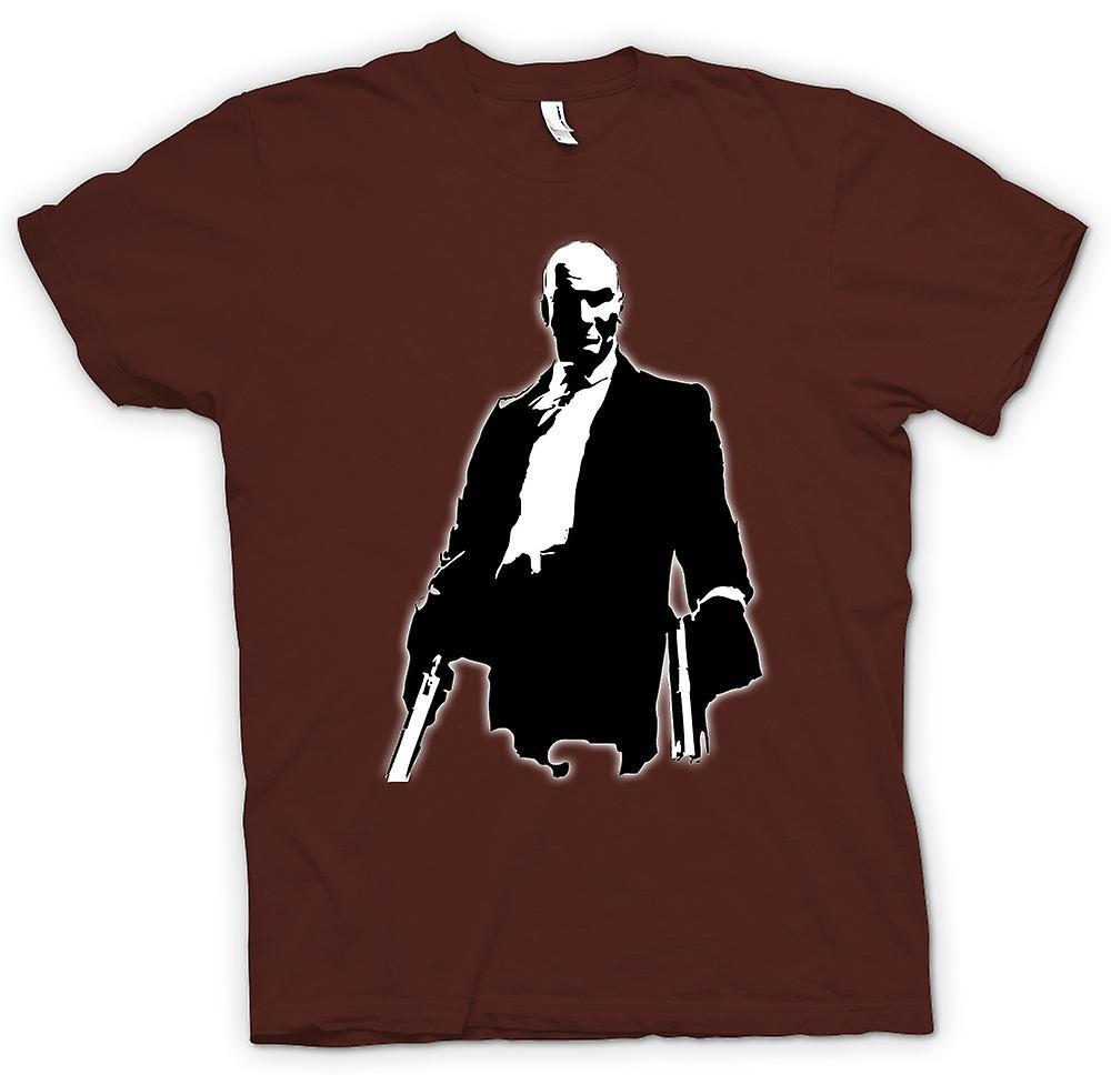 Heren T-shirt-Hitman - Game - Cult