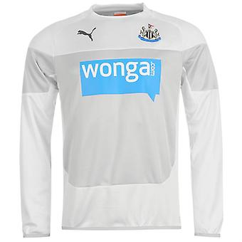 2014-2015 Newcastle Puma Sweatshirt (wit) - Kids