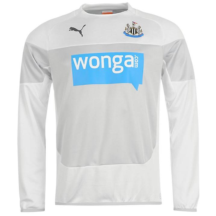 2014-2015 Newcastle Puma Sweatshirt (weiß) - Kids
