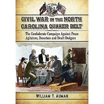 Guerra civil da Carolina do Norte quaquer cintura - a campanha da Confederação