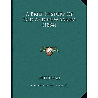 A Brief History of Old and New Sarum (1834)