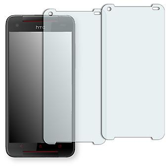 HTC Butterfly S screen protector - Golebo crystal clear protection film