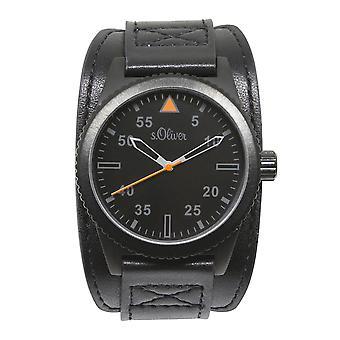 s. Oliver SO-15153-LQR Men ' s Watch