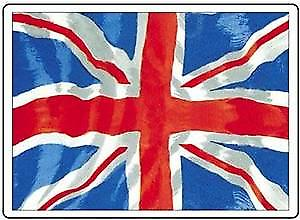 Union Flag steel fridge magnet