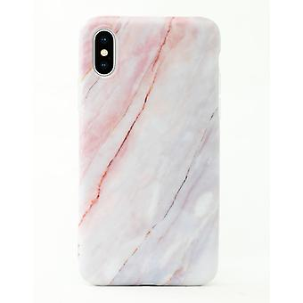 iPhone XR | Soft, Pink and Blue Marble Case