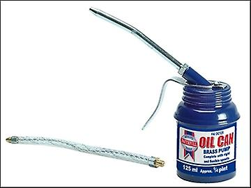 Faithfull Oil Can 125 ml Pistol Type