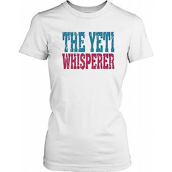 Die Yeti-Whisperer - Verschwörung-Damen-T-Shirt